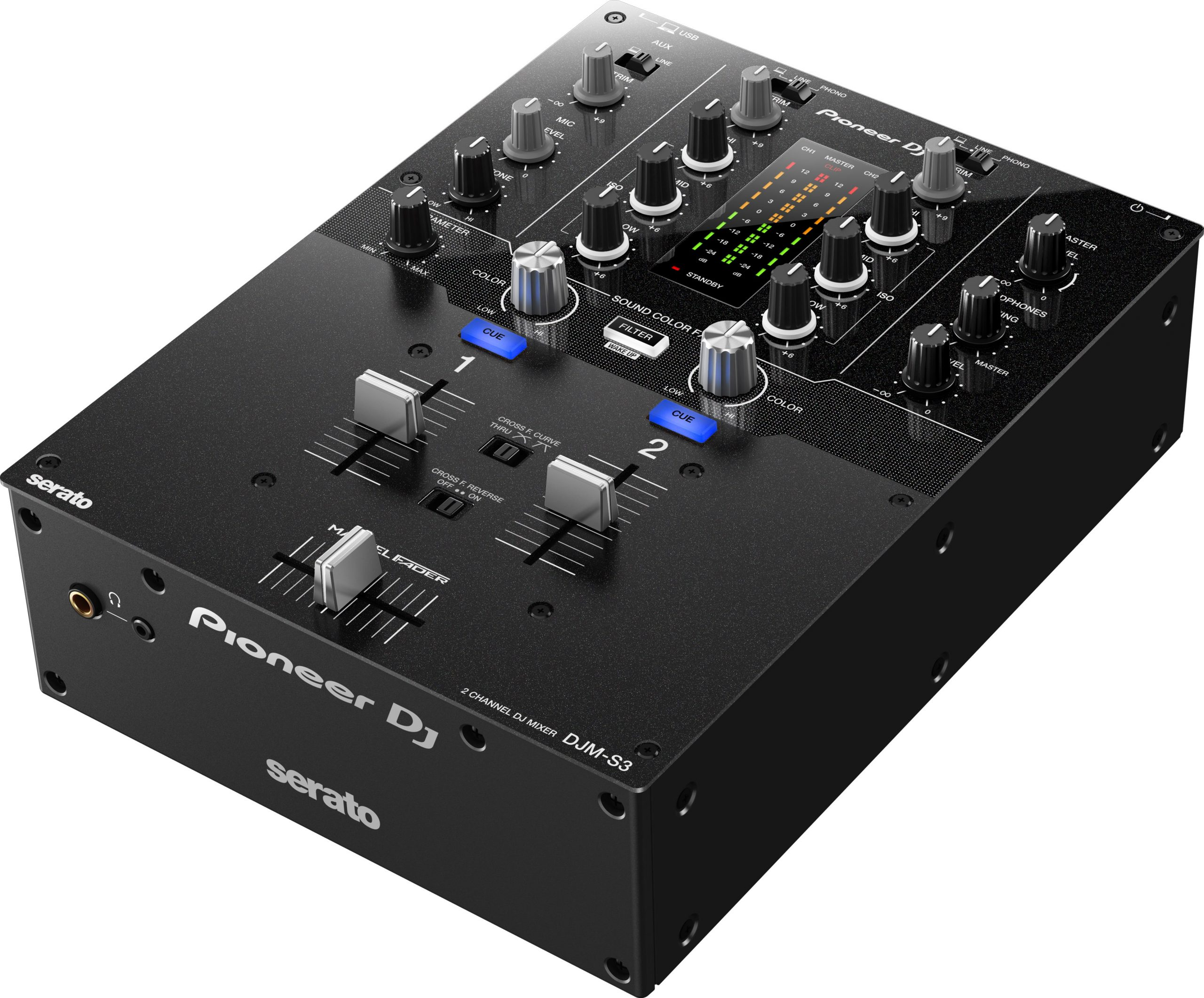 DJ DJM-S3 (2-channel mixer for Serato DJ Pro)