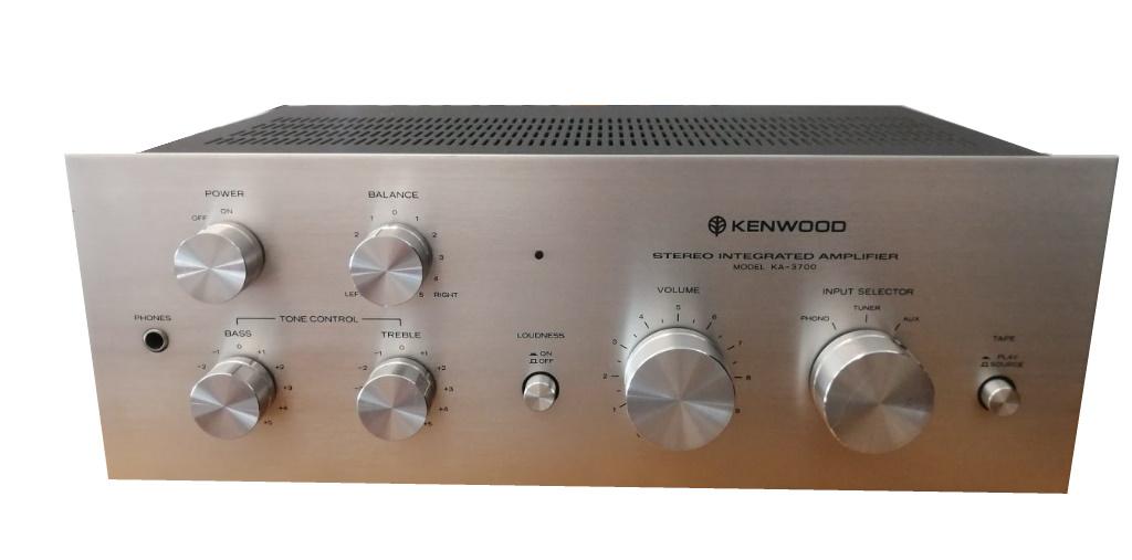 Kenwood KA-3700 Integrated Amplifier 1977