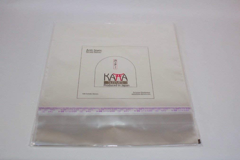 Japanese  Resealable Outer Sleeves 12″