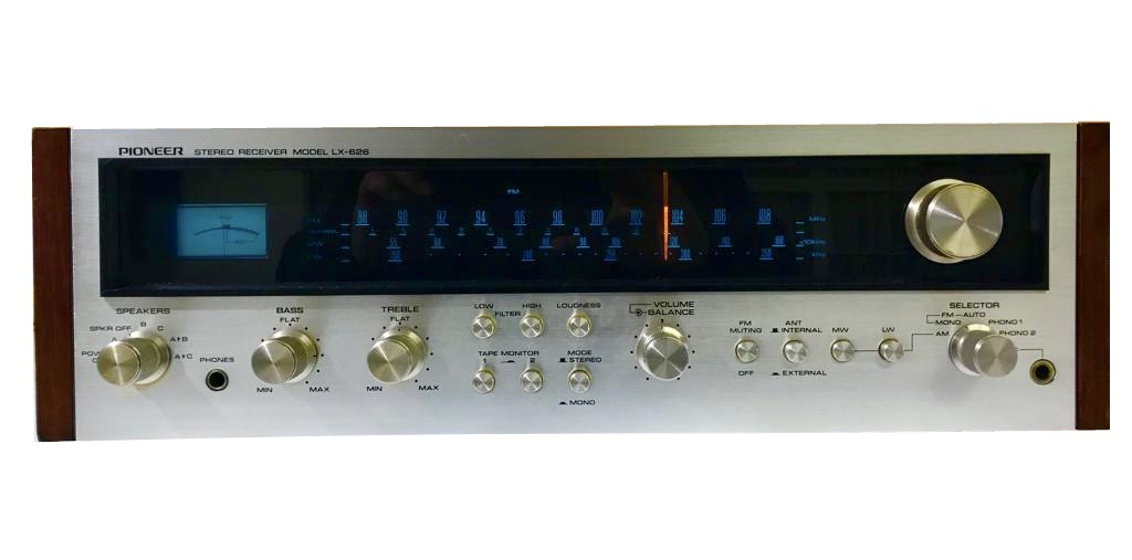 Pioneer  LX-626 – Stereo Receiver 1974