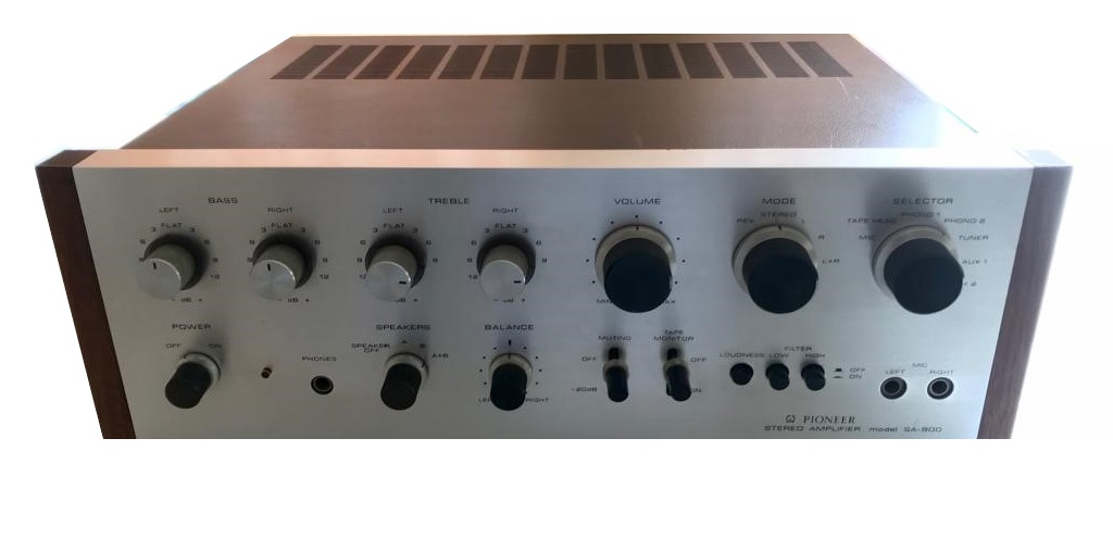 Pioneer SA-900 Solid -State Stereo Amplifier – 1970/71