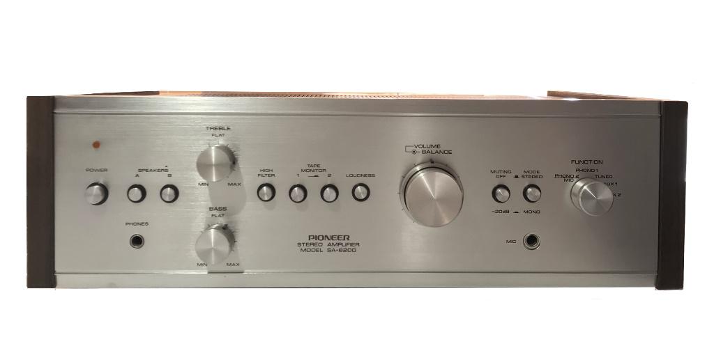 Pioneer SA-6200 Stereo Amplifier – 1974