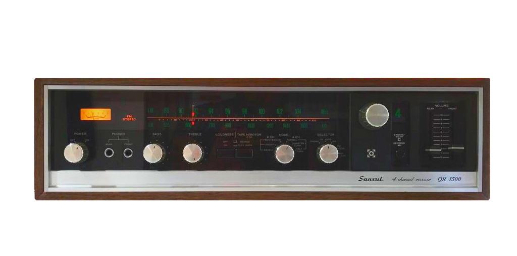 Sansui QR-1500 4 Channel Receiver – 1972/73