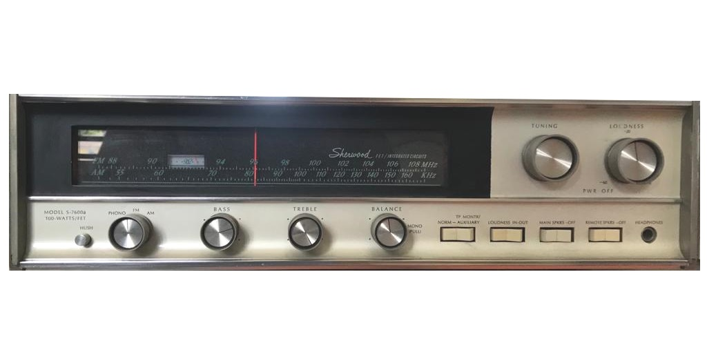Sherwood S-7600A Solid-State Stereo Receiver – 1968