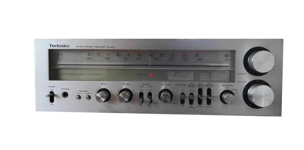 Technics SA-400 Stereo Receiver – 1978/79
