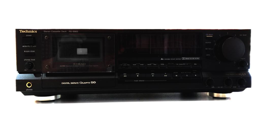 Technics RS-B965 Dolby B/C Stereo Cassette Deck