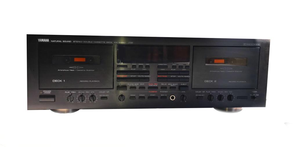 Yamaha KX-W952 Double Cassette Deck – 1991/97